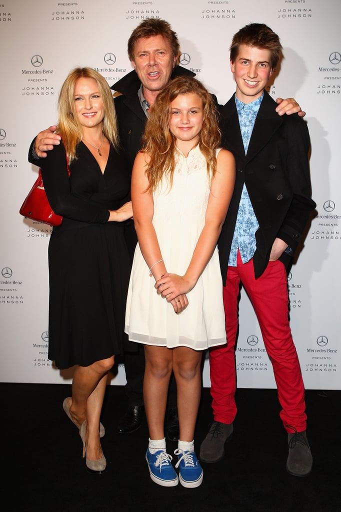 Richard Wilkins and Family at Johanna Johnston