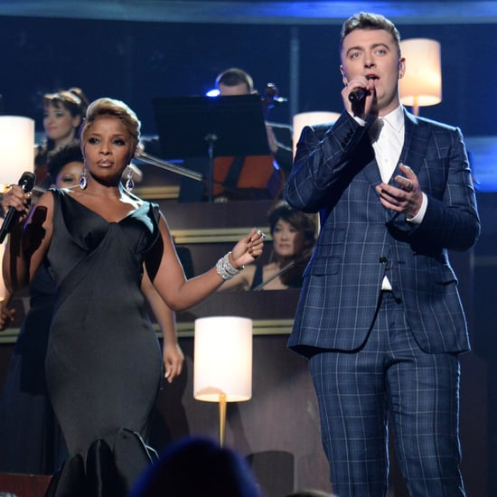 """Sam Smith and Mary J. Blige Singing """"Stay With Me"""""""