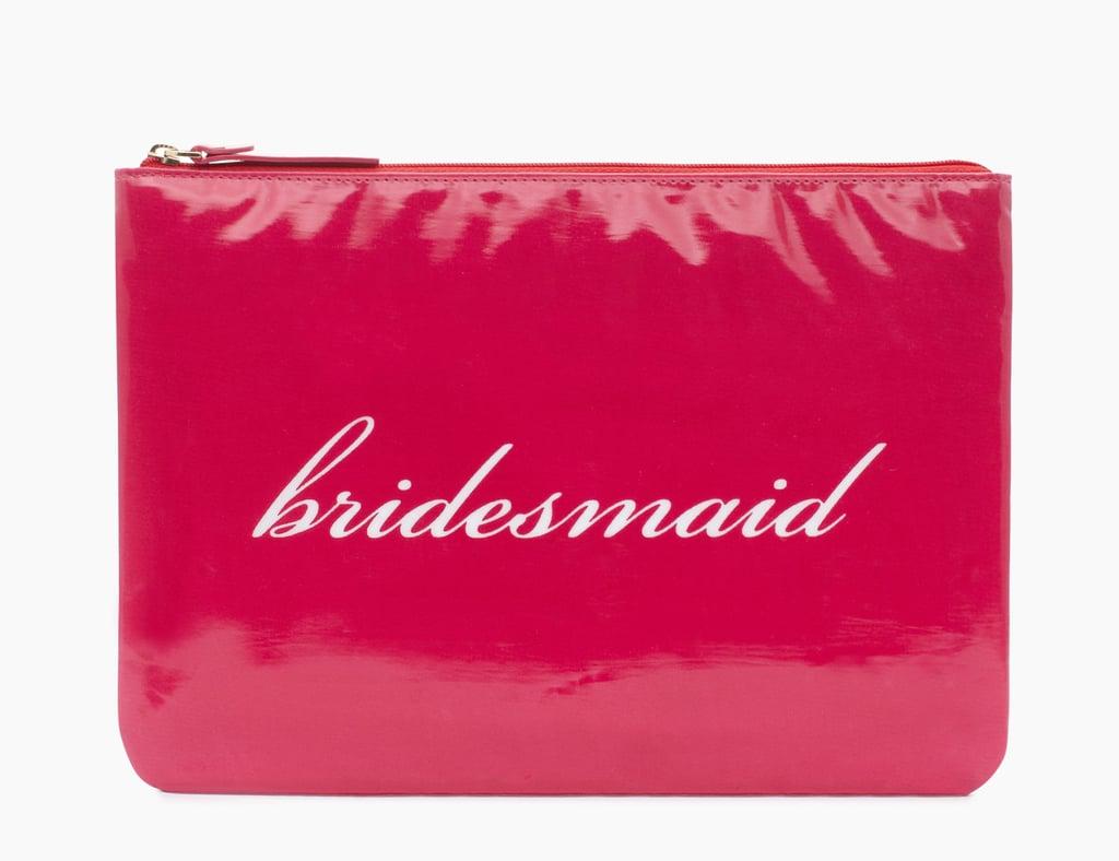 Kate Spade New York Wedding Belles Gia Bridesmaid Red Clutch ($25, originally $78)
