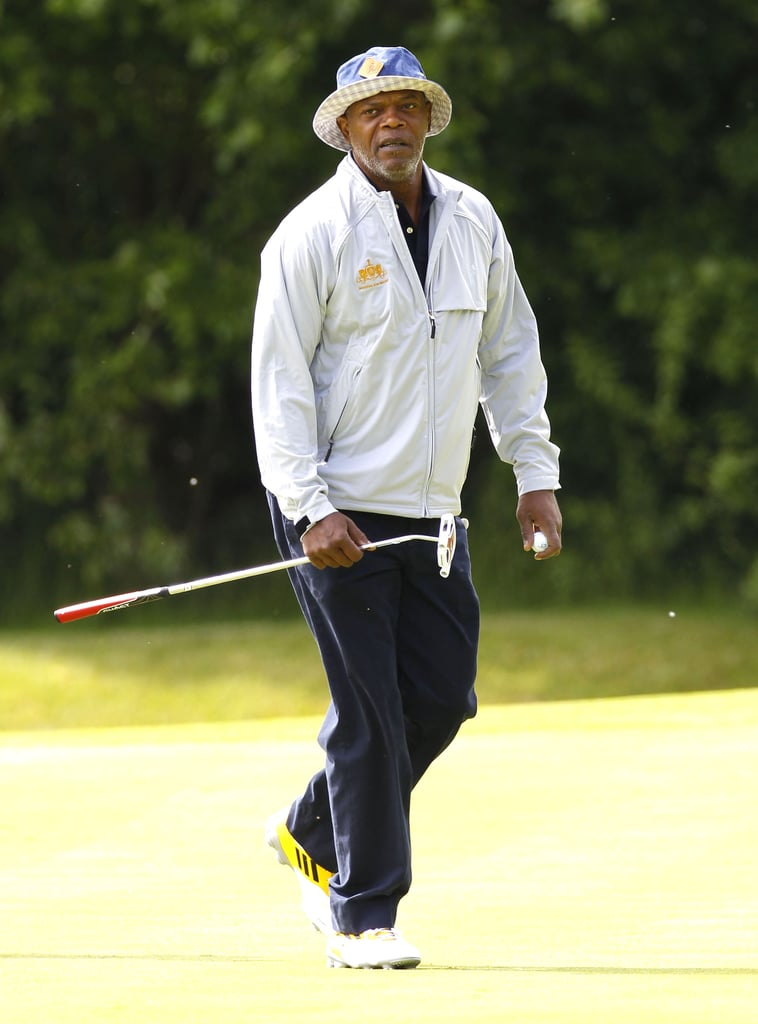 In June 2013, Samuel L. Jackson took part in a charity golfing match in London.