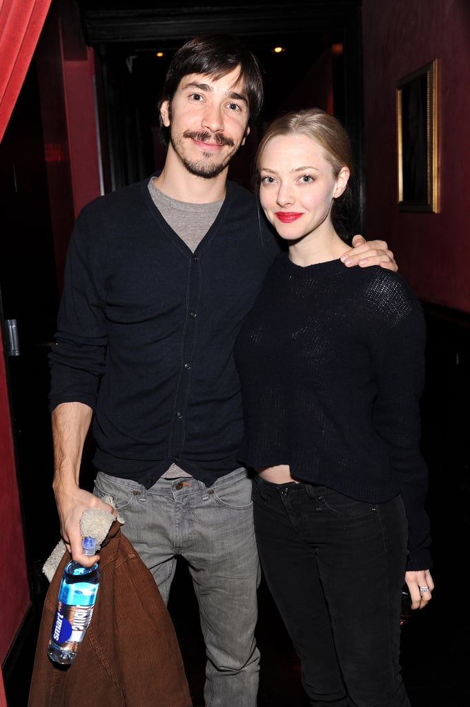 Amanda Seyfried and Justin Long made their first appearance together since their relationship went public.
