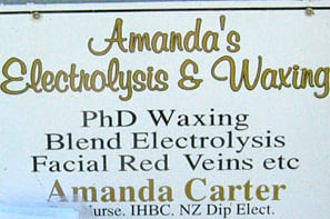 "Sign Language: ""PhD in Waxing"""