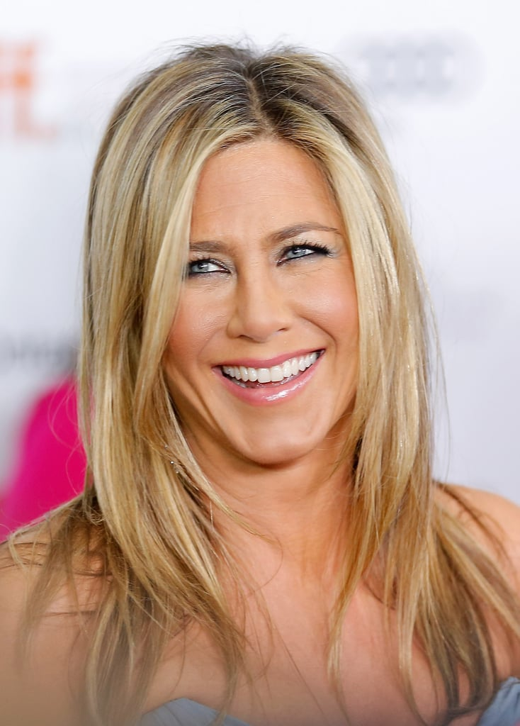 She's sported a myriad of blond hues, but the dirty-blond shade Jennifer Aniston is currently wearing is an all-around favorite.