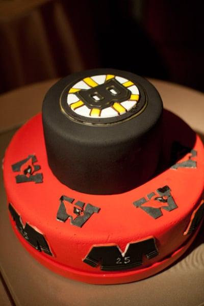Team Groom's Cake