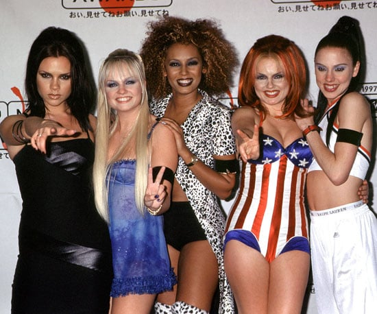 "The Spice Girls won Best Video for ""Wannabe"" in 1997, and at the show all five members wore black arm bands as a symbol of their sadness over the passing of Princess Diana just days earlier."