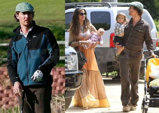 Photos of Matthew McConaughey, Camila Alves, Vida McConaughey, and Levi McConaughey Together in LA