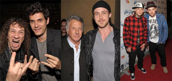 Photos of John Mayer, Ryan Gosling, Joel Madden, Benji Madden at Anvil! The Story of Anvil