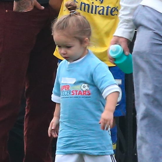 Harper Beckham Playing Soccer | Pictures