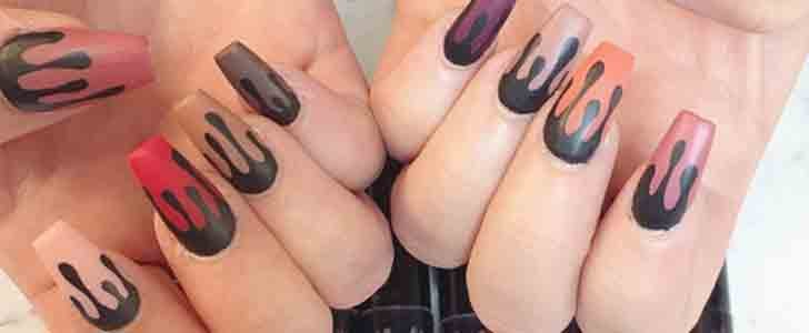 Even If You Can't Get a Kylie Lip Kit, You Can DIY Nail Art Inspired by It