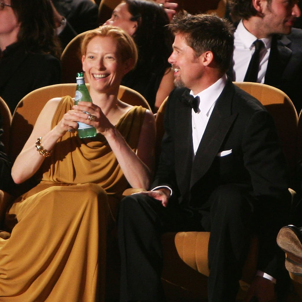 Brad Pitt and Tilda Swinton checked out a screening at the 2008 festival.