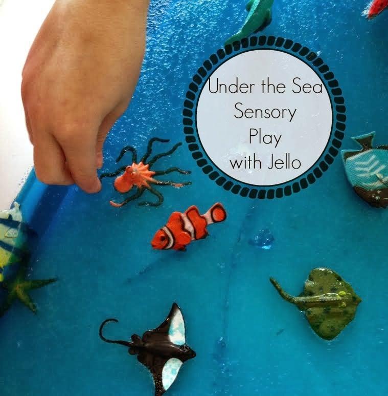 Under-the-Sea Sensory Play