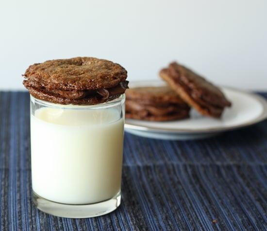 Ganache-Filled Pecan Cookies