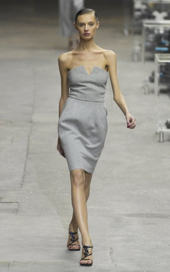 The Look For Less: Yves Saint Laurent Jersey Bustier Dress