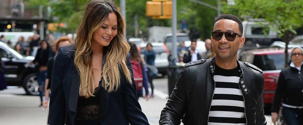 Chrissy Teigen and John Legend Hold Hands During a Day Date in NYC