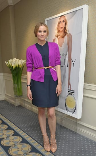 Diane Kruger Interview: The Actress on Calvin Klein Beauty Fragrance 2010-10-22 07:00:28