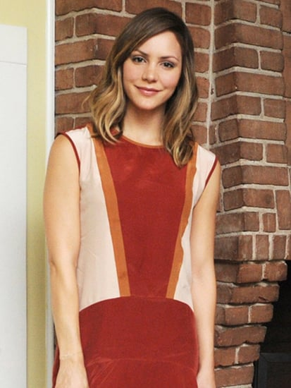 Katharine McPhee's Flirty Colorblock Dress is on Sale!