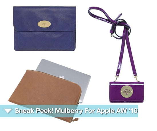 Mulberry For Apple A/W '10 Collection 2010-08-20 05:50:22