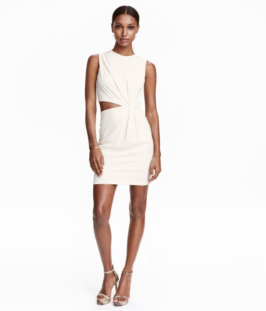 H&M Draped Dress ($50)