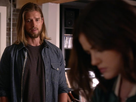 Pretty Little Liars Sneak Peek! Aria Tells a Shocked Jason About His Newly Discovered Cousin