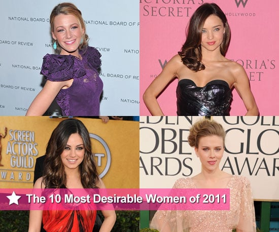 The Top 10 Most Desirable Women of 2011 According to AskMen.com