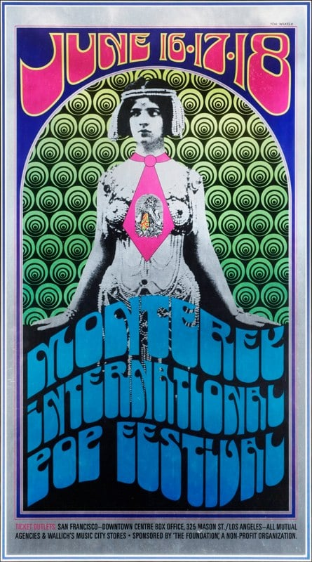 The Monterey International Pop Festival