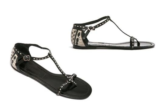 Fabworthy: Sigerson Morrison Weave T-Strap Sandal