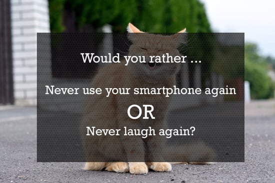 """Time to Play """"Would You Rather?"""" — Tech Edition"""