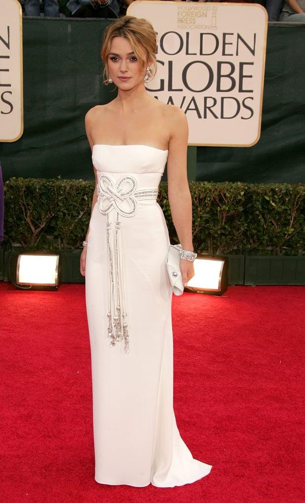 Keira Knightley in Valentino in 2006.
