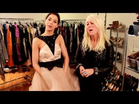 A Fitting With Miss Golden Globes Gia Mantegna and Stylist Taylor Jacobson