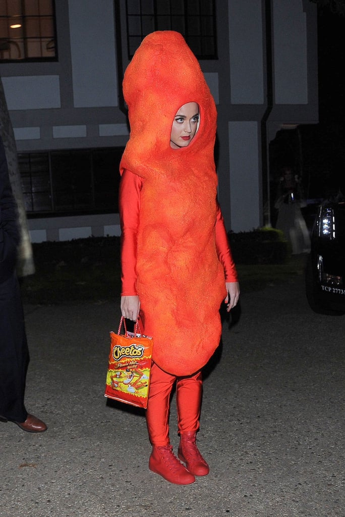 In 2014, Katy Perry was hilariously adorable in her Flamin' Hot Cheeto costume.