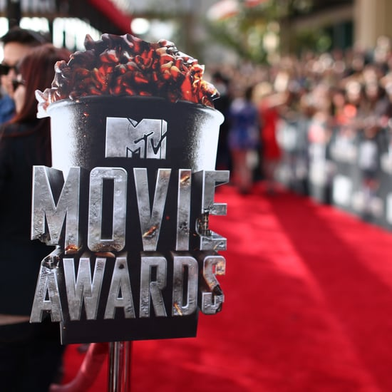 Wardrobe Malfunction at the 2014 MTV Movie Awards
