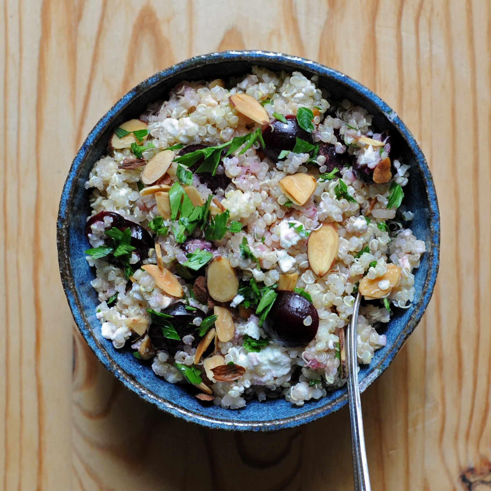 Cherry, Quinoa, and Feta Salad