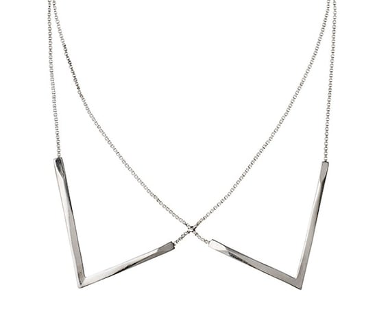 Simple Collar Necklace From Pilgrim Jewellery