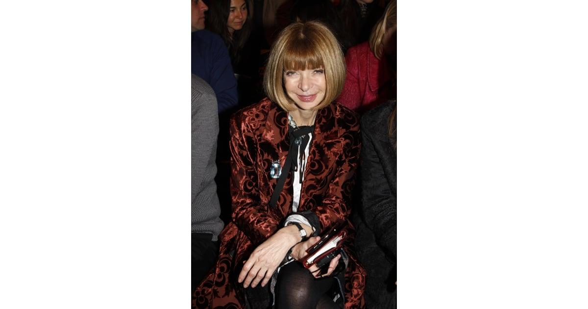Anna Wintour Denies Video Stalkers During Milan Fashion ...