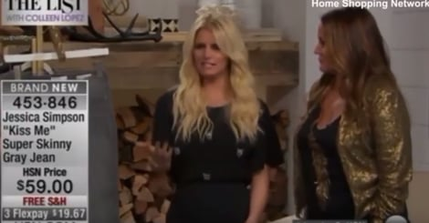 Jessica Simpson's HSN Appearance Has Some Scratching Their Heads