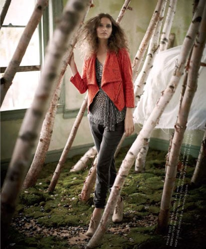 Warming Up With Anthropologie's Cozy December Style