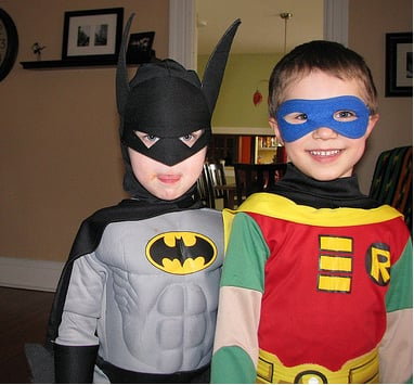 Super Hero Halloween Costumes for Little Boys