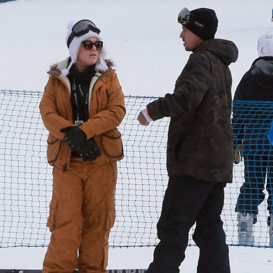 Pink and Carey Hart Go Skiing December 2015