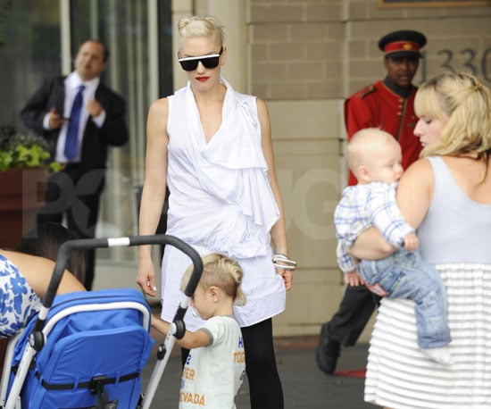 Photo Slide of Gwen Stefani and Her Sons Kingston and Zuma Sightseeing in Washington DC