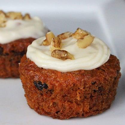 Vegan Carrot Cake Cupcake Recipe