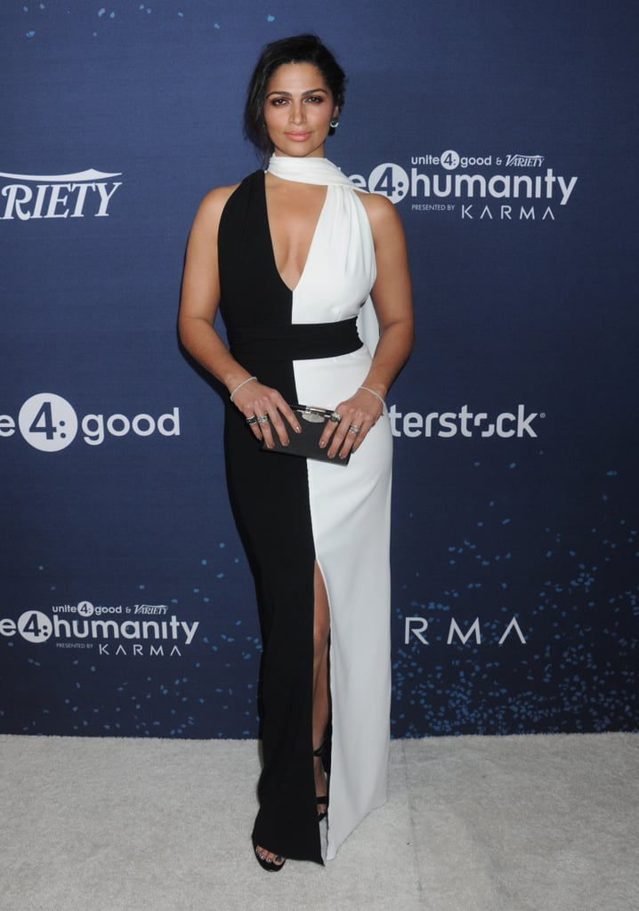 In February 2016 at the Unite4:Humanity Gala in Los Angeles