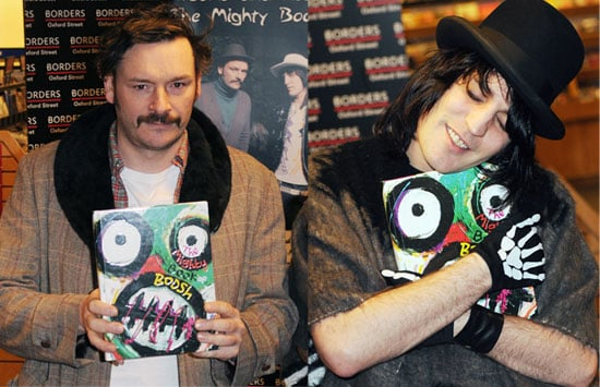 Noel Fielding and Julian Barratt At A Book Signing For The Mighty Book Of Boosh In London
