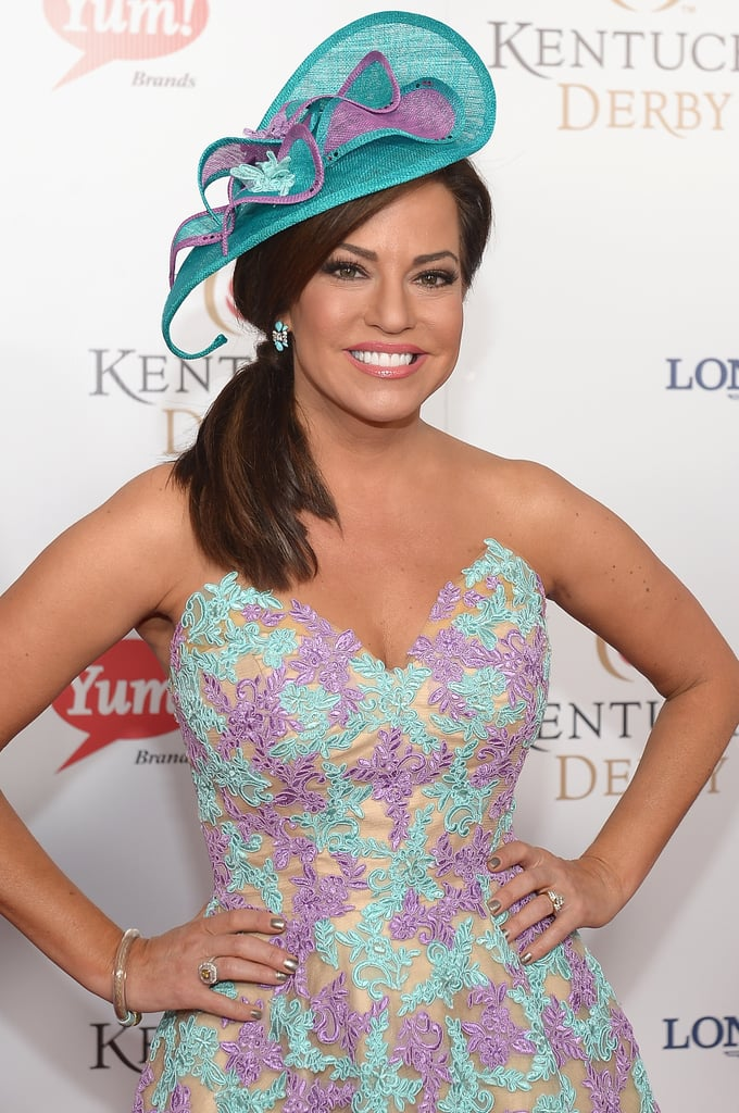 Robin Meade took a break from covering the news on HLN to attend the derby.