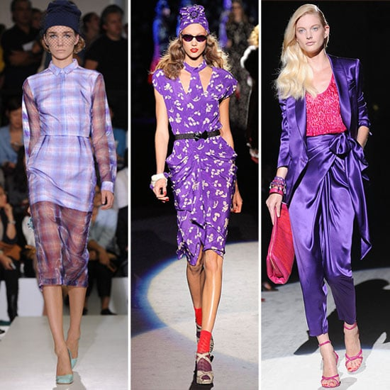 Spring 2012 Colour Report: Pops of Purple