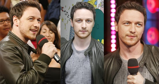 Photos Of James McAvoy On MTV's TRL