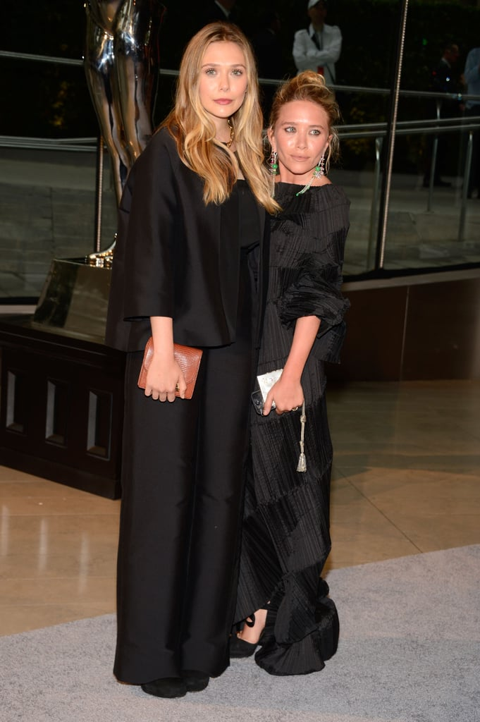Elizabeth Olsen hit the red carpet with her older sister Mary-Kate.