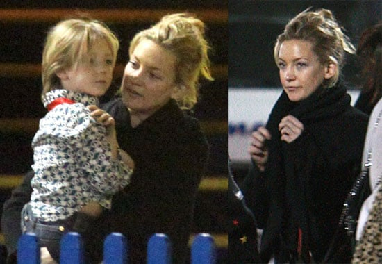 Photos of Kate Hudson and Ryder Robinson Leaving Cirque du Soleil in Santa Monica