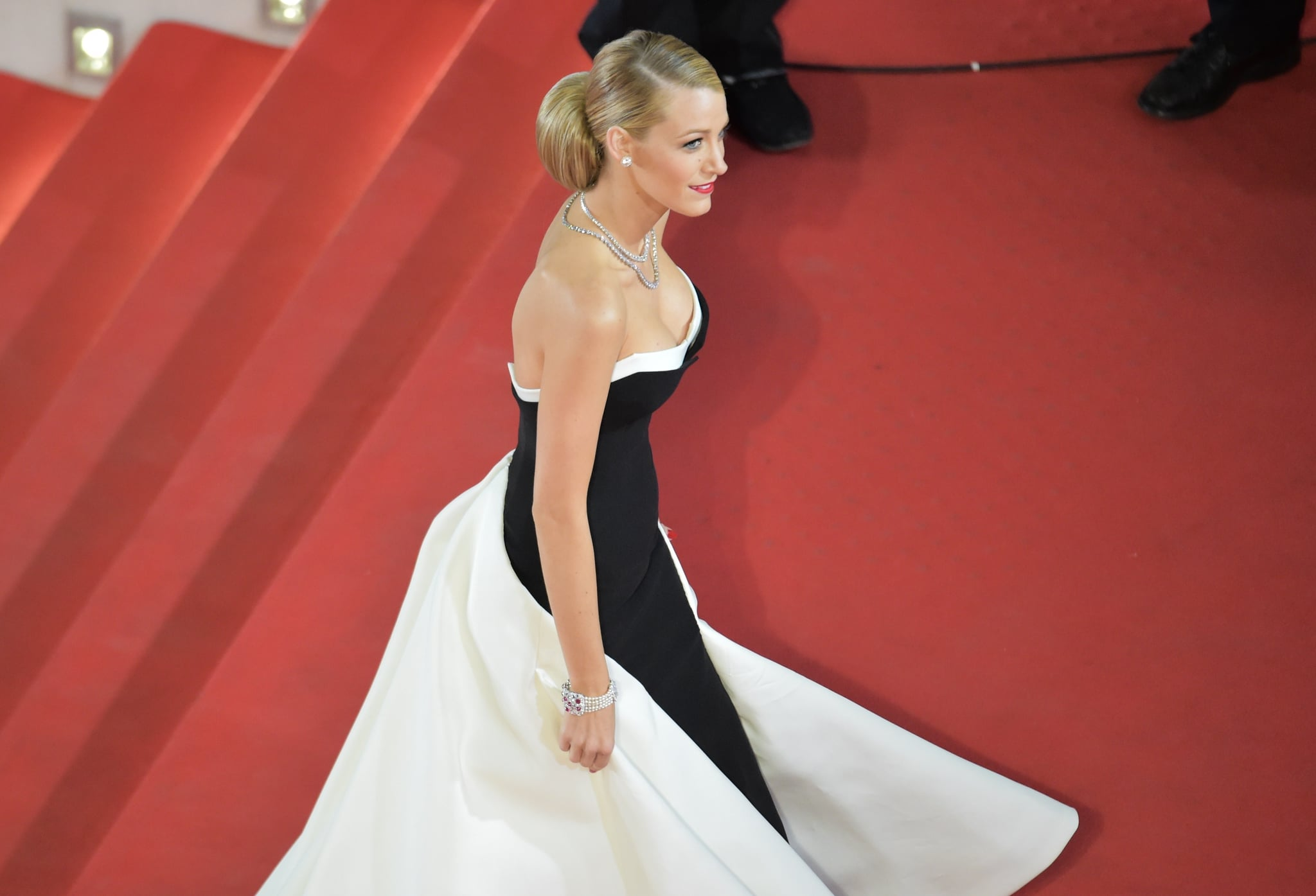 fashion shopping style blake lively gives us a sneak peek at her cannes dresses and oh. Black Bedroom Furniture Sets. Home Design Ideas