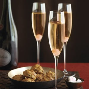 Start things off with a lovely champagne cocktail. Mom's worth it, so splurge on the good stuff!