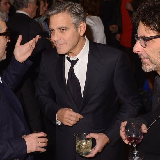 George Clooney Says He's Too Old to Party